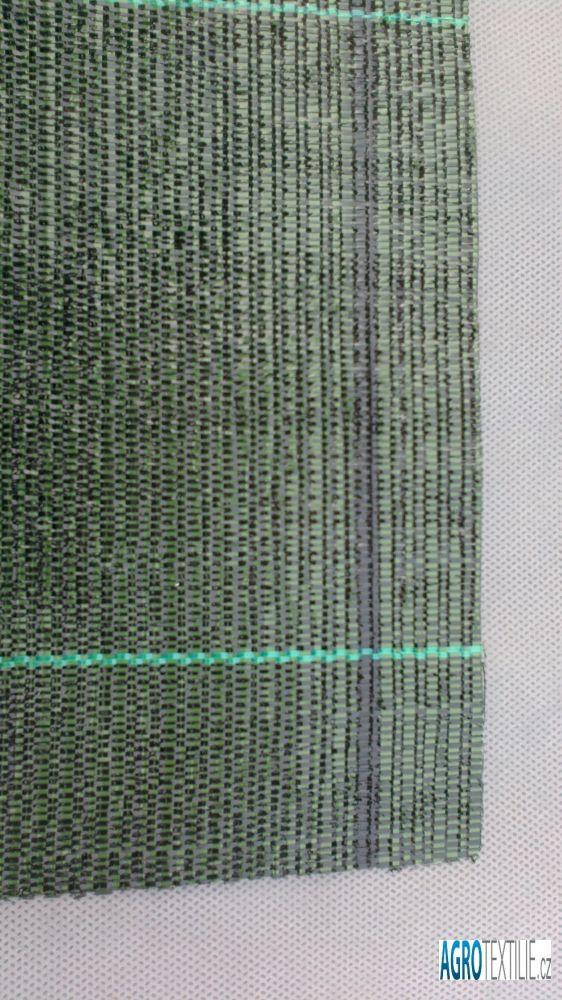 Tkaná agrotextílie černo-zelená 100g 1,65m x 50m váha role 8,3kg