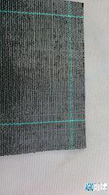 Tkaná agrotextílie černá 100g 1,65m x 50m váha role 8,3kg